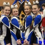 Girls Junior Varsity Competitive Cheer finishes 1st place at Chemic Cheer Challenge