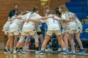 Varsity Girls Basketball vs John Glenn 2/13/20