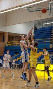 JV Boys Basketball vs Davison 2/27/20