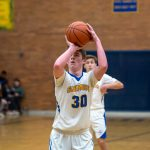 Varsity Boys Basketball vs Davison 2/27/20