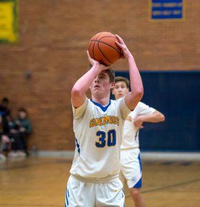 Varsity Boys Basketball vs Davison 2/27/20