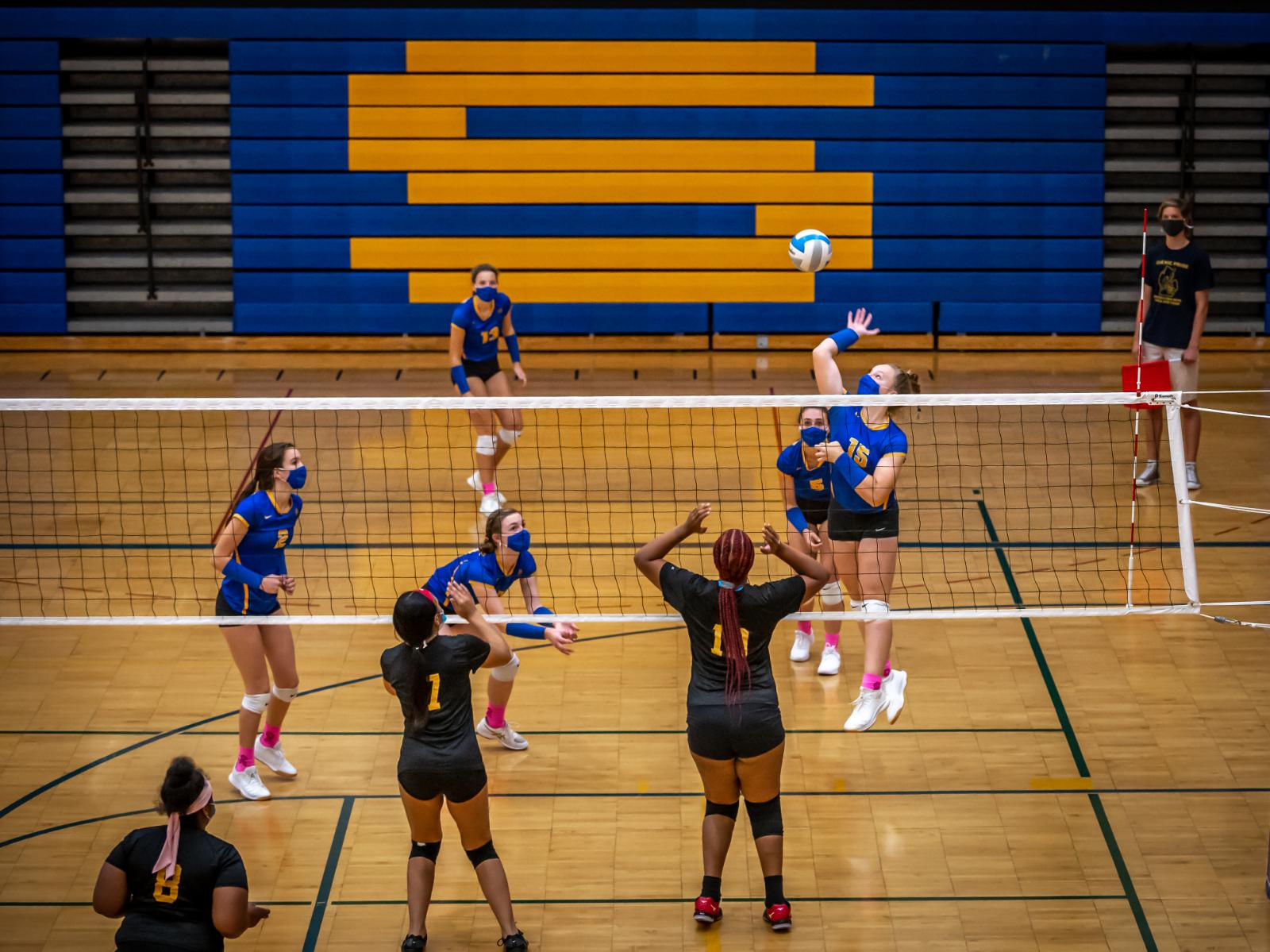 Varsity Volleyball vs. Saginaw High 10/6/20