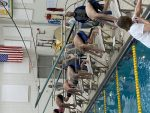 Boys Swimming beats Powers Catholic 129 – 42
