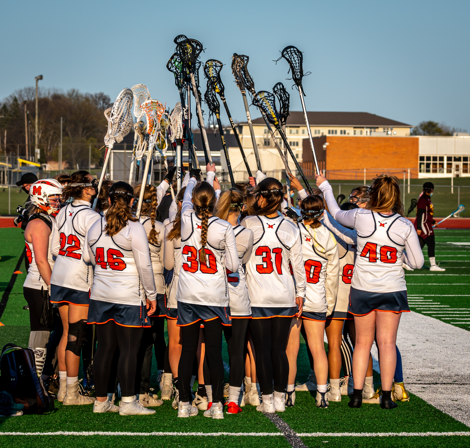 Varsity Girls Lacrosse vs Davison 4/22/21