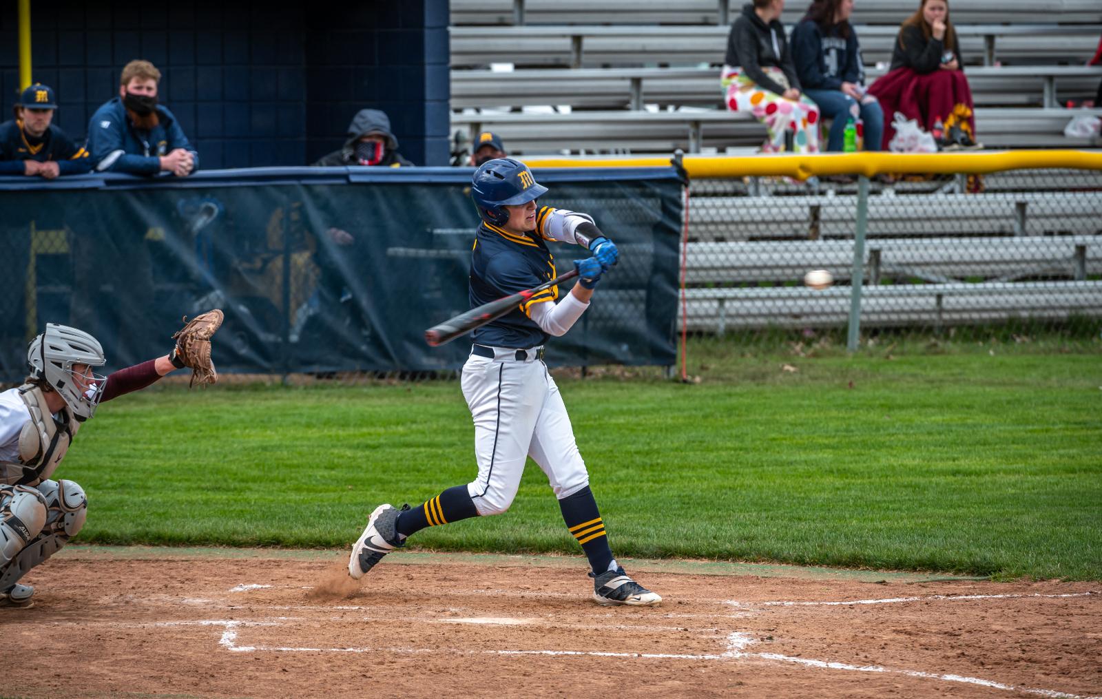 Varsity Baseball vs Davison 4/19/21