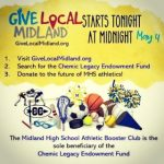Give Local Midland = Chemic Legacy Endowment Fund