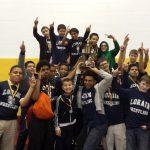 Middle school wrestlers win tournament!