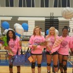 Congrats to LHS volleyball on Senior Night