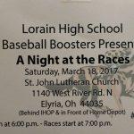 Baseball Night at the Races