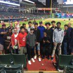 Freshmen baseball attends Tribe game