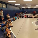 Wrestling youth clinic is a huge success!