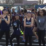 Freshman lead the way to Lady Titans tri-meet Track & Field conference victory over Maple Heights and Warrensville at Home