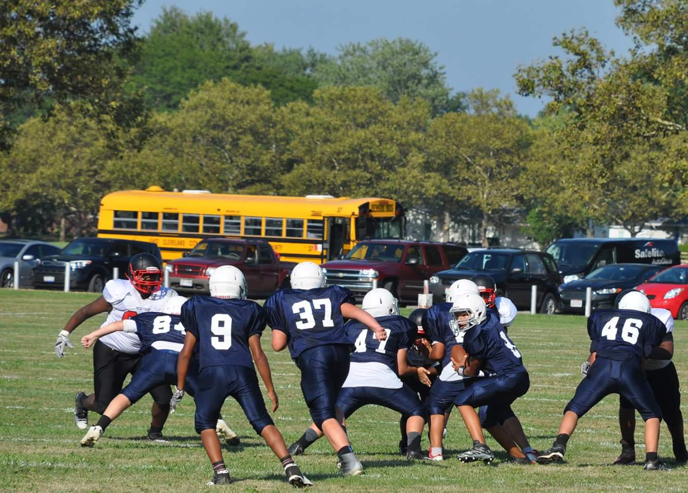 Middle School Fall Sports Information