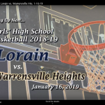 Girls basketball vs. Warrensville playing NOW on LCS TV20