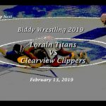 Youth Wrestling – Lorain vs. Clearview 2-13-19
