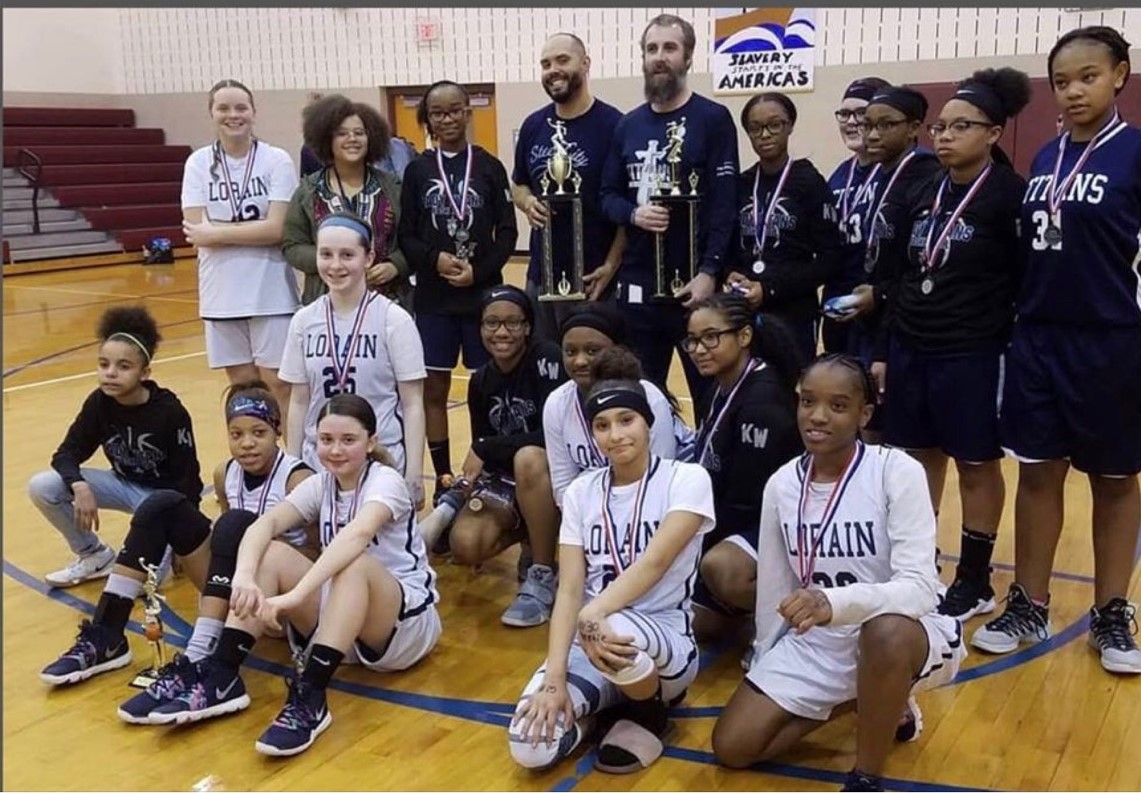 Lady Titans win TWO Lake Erie League Championships