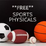 MARK YOUR CALENDARS – FREE Sports Physicals on June 7