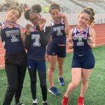 GJW girls track represents at LEL Meet