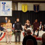 Kameron Davis and Emily VanHorn recognized at LSHOF banquet