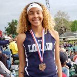 Lorain's Julissa Williams finishes 8th in High Jump; Mikya Hermon qualifies in the 100M Dash Final as does the Girls 4 x 200M, and DaQuise Clayton will run the 400M Dash on Friday