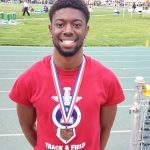 DaQuise Clinton qualifies for State Meet in the 400M with a School Record 49.40 and 4th place finish!!!