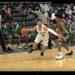 Aaron Whitehead's junior season highlights