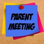 Fall Sports Parent Meeting Aug 14