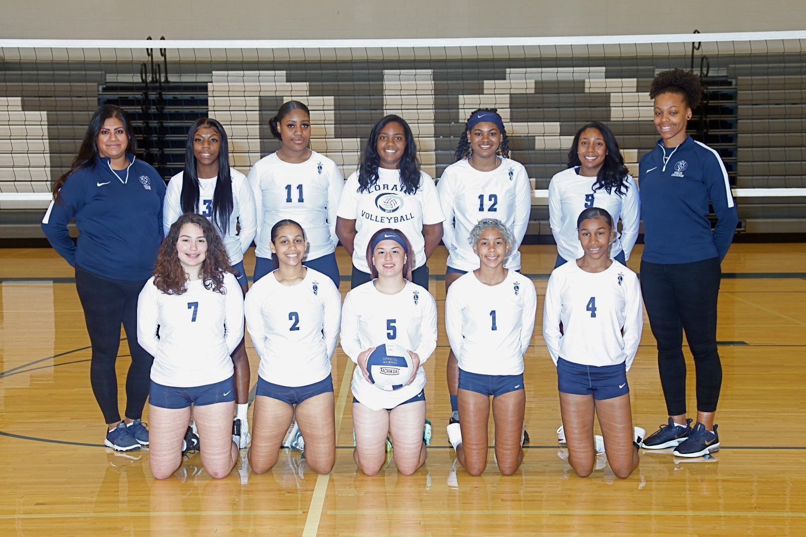 LHS volleyball wins share of LEL Championship