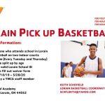 Lorain Pick Up Basketball