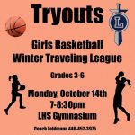 Lorain Girls Youth Basketball Tryouts