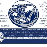 Homecoming Family Night Festival – Friday, Oct 4