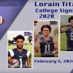 Lorain High College Signing Day