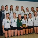 Kettle Moraine Lutheran High School Girls Varsity Volleyball beat Germantown High School 2-0