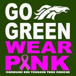 Chargers GO PINK!
