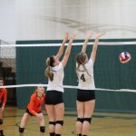 Kettle Moraine Lutheran High School Girls Junior Varsity Volleyball beat Ripon High School 3-0