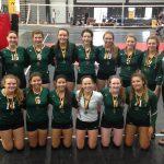 Kettle Moraine Lutheran High School Girls Varsity Volleyball beat New Berlin Eisenhower 2-0