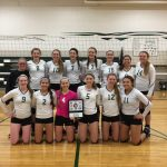 Kettle Moraine Lutheran High School Girls Varsity Volleyball beat Waupun 2-0