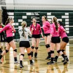 Kettle Moraine Lutheran High School Girls Varsity Volleyball beat Kewaskum 3-0