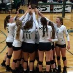Kettle Moraine Lutheran High School Girls Varsity Volleyball beat Grafton 3-0
