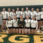 Kettle Moraine Lutheran High School Girls Varsity Volleyball beat Kewaskum High School 3-0