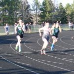 Girls 3rd; Boys 6th; T&F Lutheran Invitational