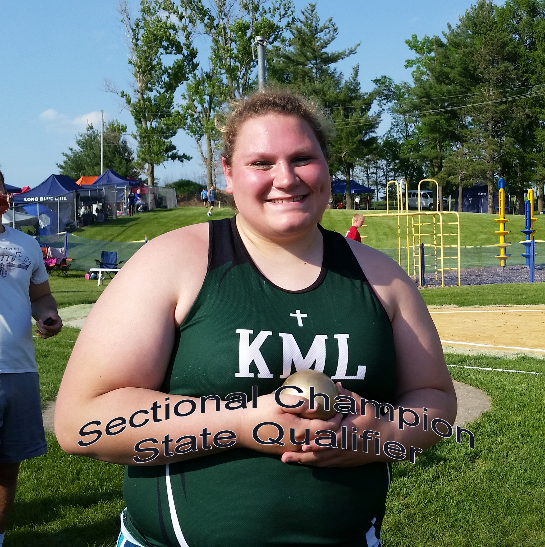 Brooke Kary Qualifies for STATE for 4th Time