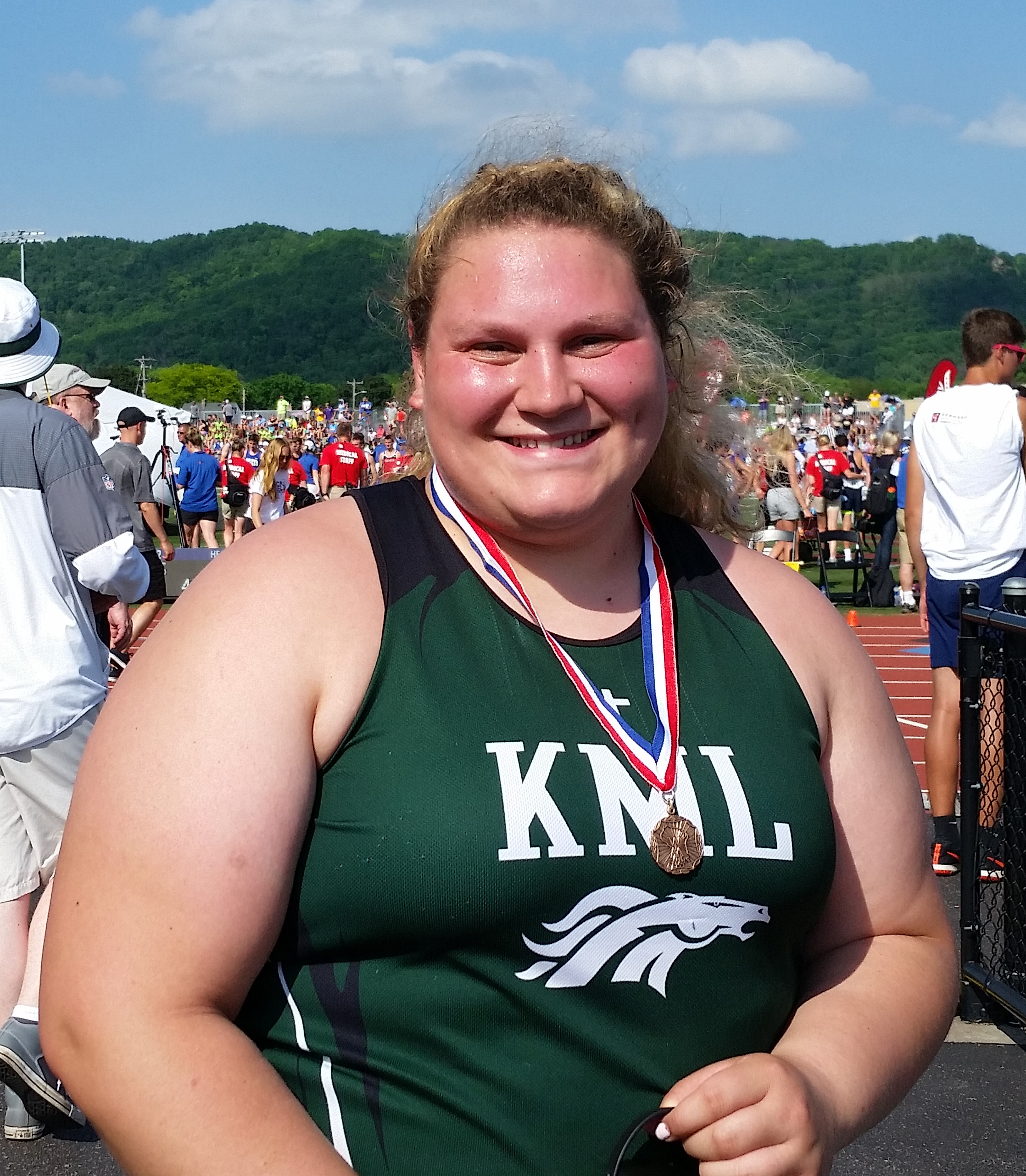 Kary Finishes 3rd at STATE