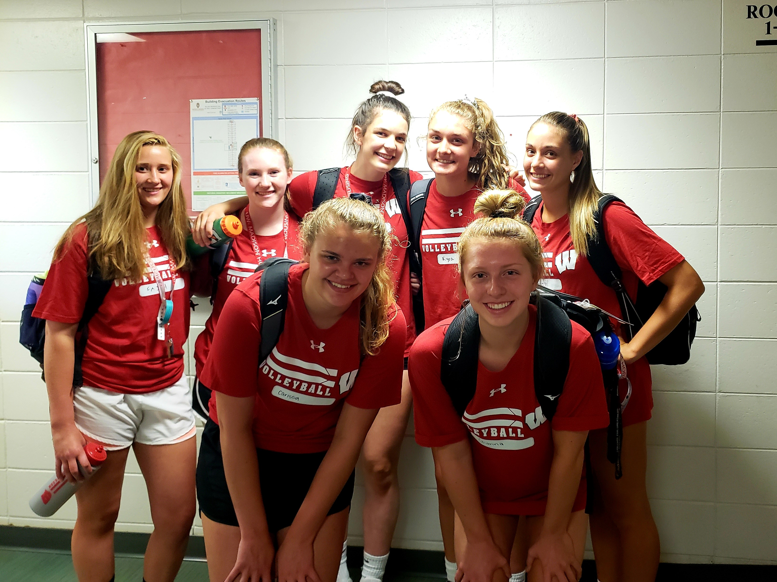 KML at Badger Volleyball Team Camp