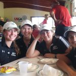 Girls Varsity Golf sets team best score at Terror Invitational