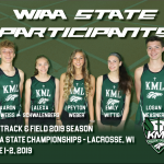Chargers at WIAA State Track Meet