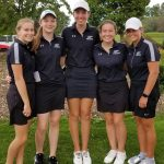 Girls Varsity Golf finishes 12th place at Invitational @ Rolling Meadows Golf Course