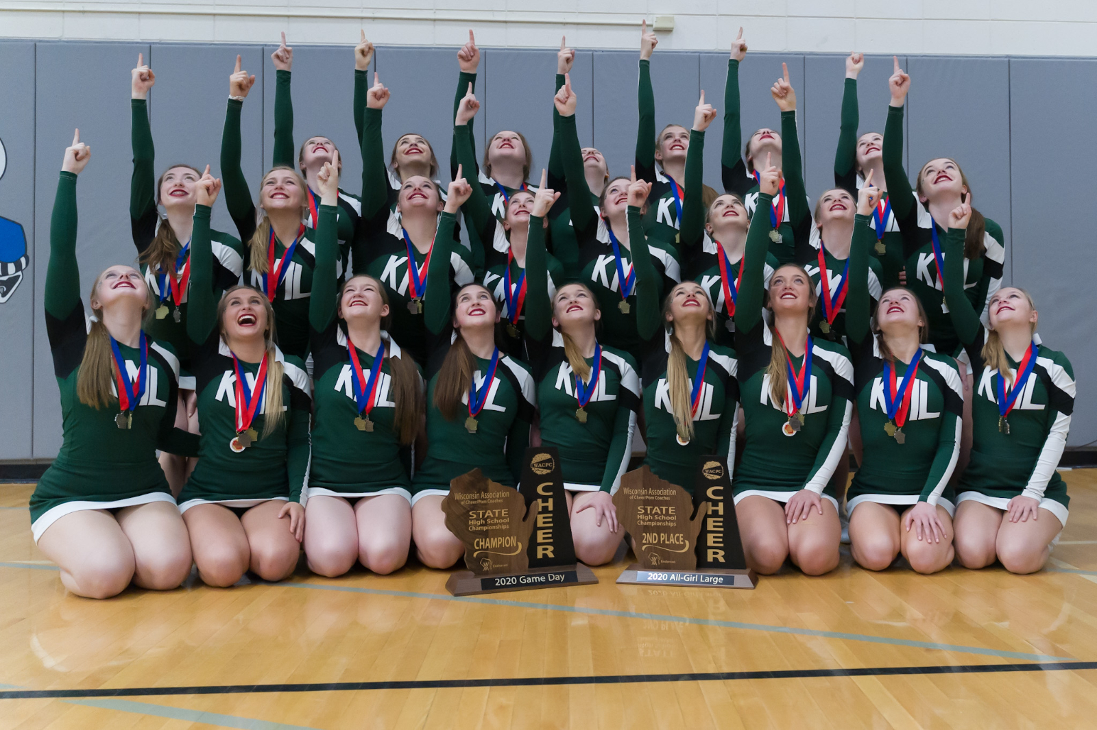 KML Cheer wins their 13th WACPC State Championship