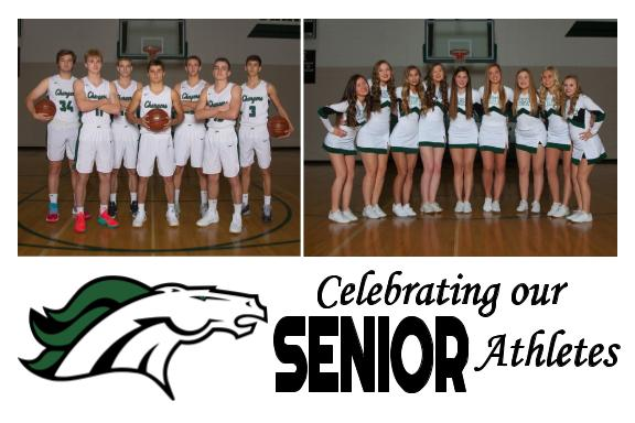 Join us for Senior Night!