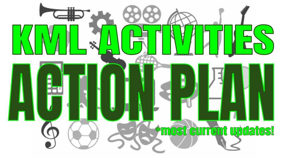 KML Activities Action Plan